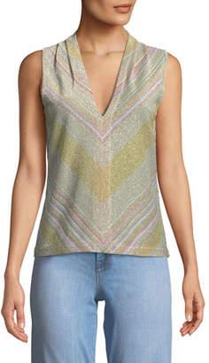 Ramy Brook Tobey Knit V-Neck Top