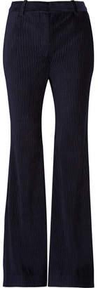 Acne Studios Corduroy Flared Pants - Midnight blue