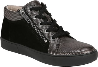 Naturalizer Sporty Side Zip Oxford Sneakers - Motley