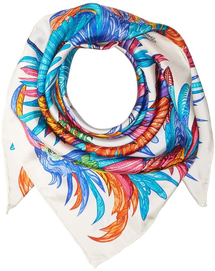 Echo Design Pajaros Coloridos Silk Square Scarf