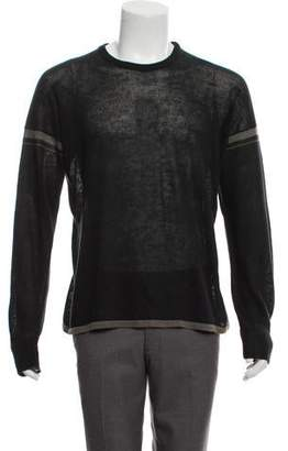 Dolce & Gabbana Linen Striped Sweater