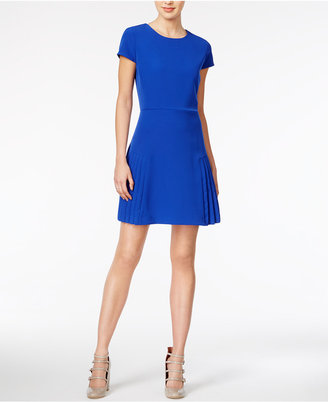 Maison Jules Pleated Fit & Flare Dress, Only at Macy's $79.50 thestylecure.com
