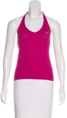 Lacoste Knit Sleeveless Top