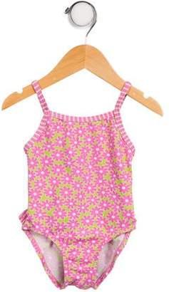 OndadeMar Girls' Printed One- Piece Swimsuit