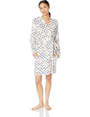 Maidenform Women's Fleece Hooded Robe