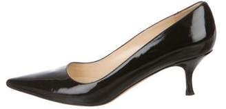 Saks Fifth Avenue Patent Leather Pointed-Toe Pumps