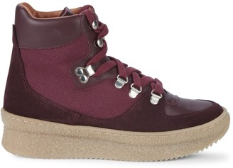 RENVY High-Top Flatform Sneakers