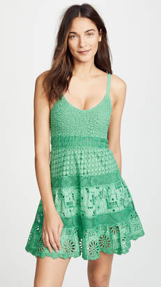 DAY Birger et Mikkelsen Temptation Positano Rosa Spaghetti Strap Dress