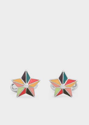 Paul Smith Men's Multi-Colour Star Cufflinks
