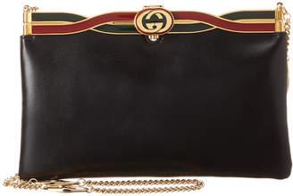 Gucci Broadway Evening Leather Shoulder Bag