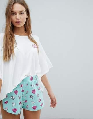 Chelsea Peers Bunny Short Pajamas