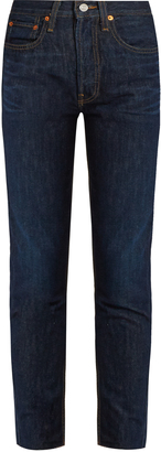 RE/DONE ORIGINALS High-rise skinny-leg jeans