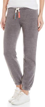 Ocean Drive Grey Neon Tassel Sweatpants