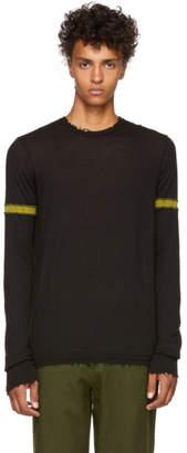 Ziggy Chen Black Cashmere Crewneck Sweater