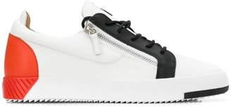 Giuseppe Zanotti Frankie colour block sneakers