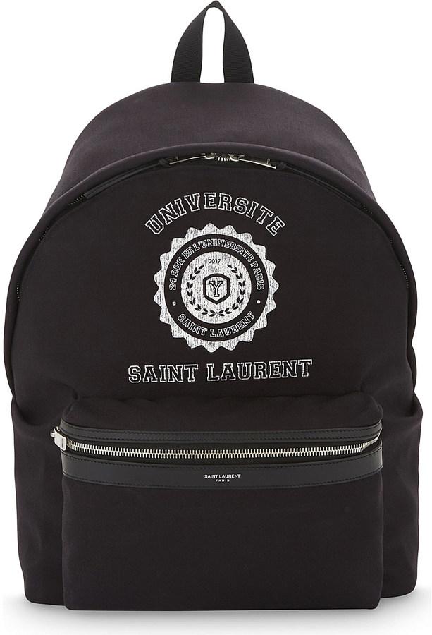 Saint LaurentSaint Laurent Université backpack