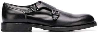 Pantanetti buckled monk shoes