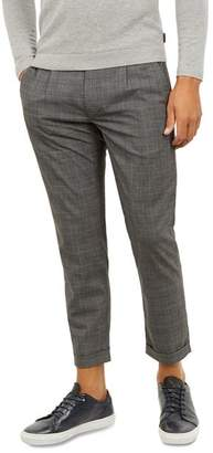 Ted Baker Two-Tone Check Slim Fit Trousers