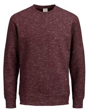Jack and Jones Printed Ribbed Sweater