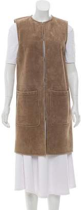 Ralph Lauren Long Shearling Vest