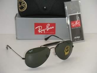 Ray-Ban OUTDOORSMAN II BLACK RB 3029 L2114 62MM BLACK FRAME G-15XLT LENSES LARGE