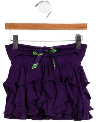 Ralph Lauren Girls' Tiered Skirt
