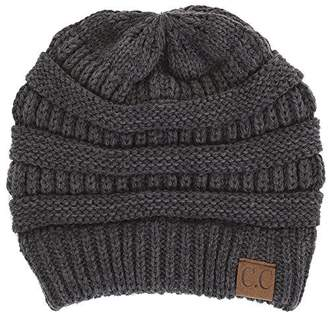 at Amazon Canada · Funky Junque H-6020a-06 Solid Ribbed Beanie a4b497bd8bfa