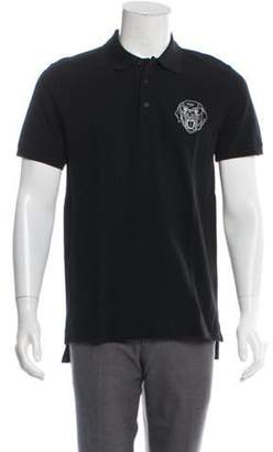 Givenchy Rottweiler Head Polo Shirt black Rottweiler Head Polo Shirt