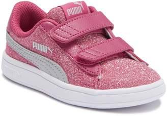 Puma Smash V2 Glitz Glam Sneaker (Toddler)