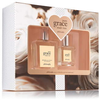 philosophy pure grace nude rose eau de toilette set