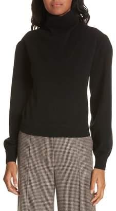 Veronica Beard Lilla Puff Sleeve Cashmere Sweater
