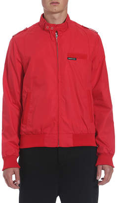 Members Only Woven Original Iconic Logo Racer Jacket
