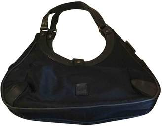 Gianfranco Ferre Black Cloth Handbag