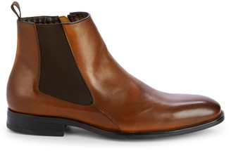 Karl Lagerfeld Paris Leather Chelsea Boots