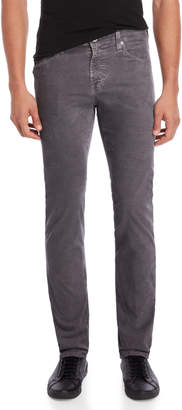 AG Adriano Goldschmied The Matchbox Slim Straight Corduroy Pants