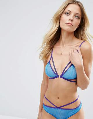 Lepel London Chelsea Geo Triangle Bra