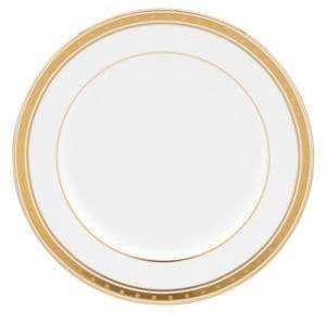 Kate Spade Oxford Place Bone China and 24K Gold Butter Plate