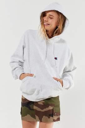 Champion Reverse Weave Logo Hoodie Sweatshirt