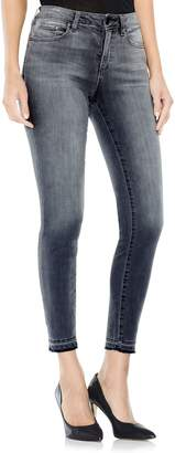 Vince Camuto Grey Released Hem Jeans