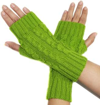 Blend of America CELITAS DESIGN FINGERLESS GLOVES MITTENS Alpaca made in PERU