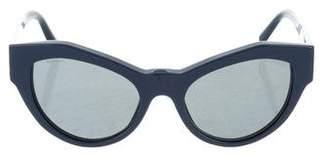 Versace Medusa Cat-Eye Sunglasses
