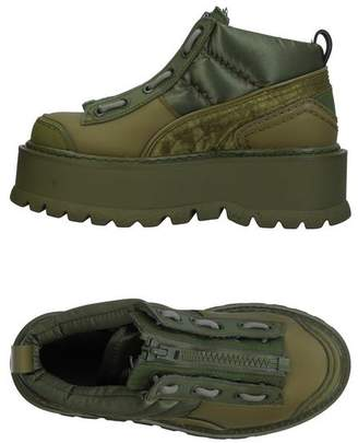 brand new be51f c45d0 FENTY PUMA by Rihanna Green Shoes For Women on Sale ...
