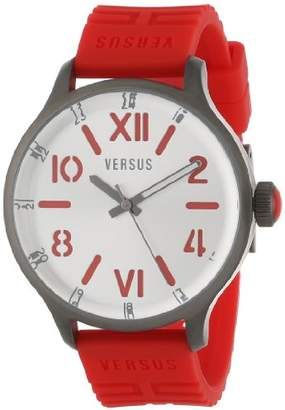 Versus By Versace Men's 'City' Quartz Stainless Steel and Rubber Casual Watch