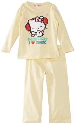 SANRIO Girls Hello Kitty EN2106 Long Sleeve Pyjama Set