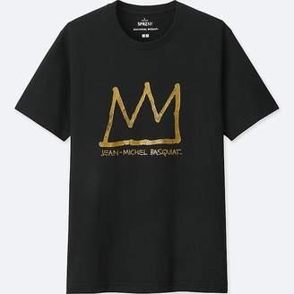 Uniqlo Men's Sprz Ny Short-sleeve Graphic T-Shirt (jean-michel Basquiat)