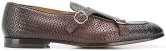 Doucal's woven monk shoes