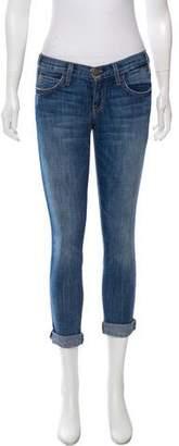 Current/Elliott Low-Rise Boyfriend Jeans