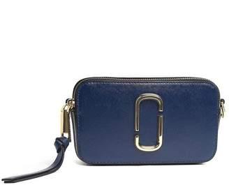 Marc Jacobs Snapshot Logo-strap Saffiano-leather Camera Bag