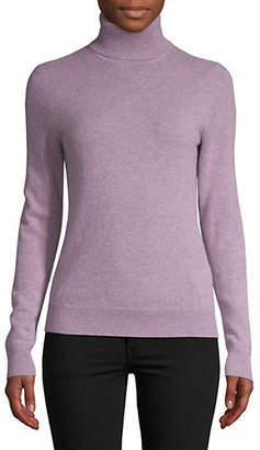 Lord & Taylor Long-Sleeve Turtleneck Sweater