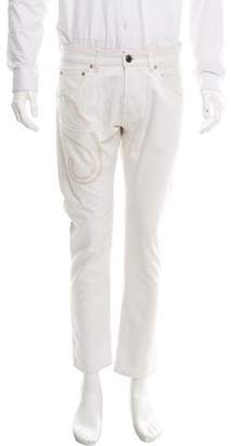 Etro Embroidery Skinny Jeans